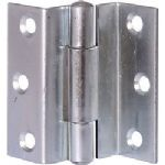 1 Pair STRONG STORM PROOF TOP HUNG WINDOW HINGE CRANKED CASEMENT WINDOW DOOR